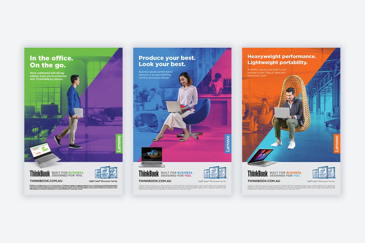 campaign - Lenovo ThinkBook Launch