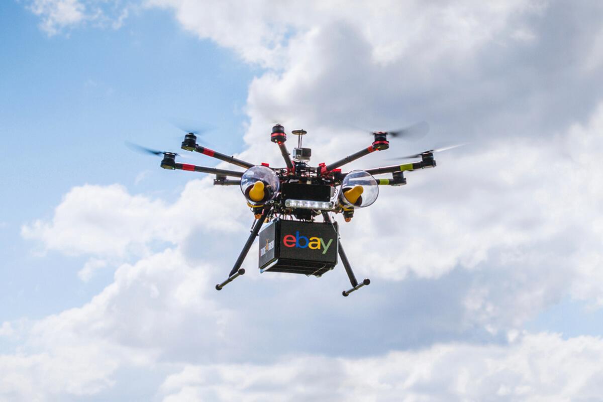 Social | copywriting - eBay #DroneAFriend