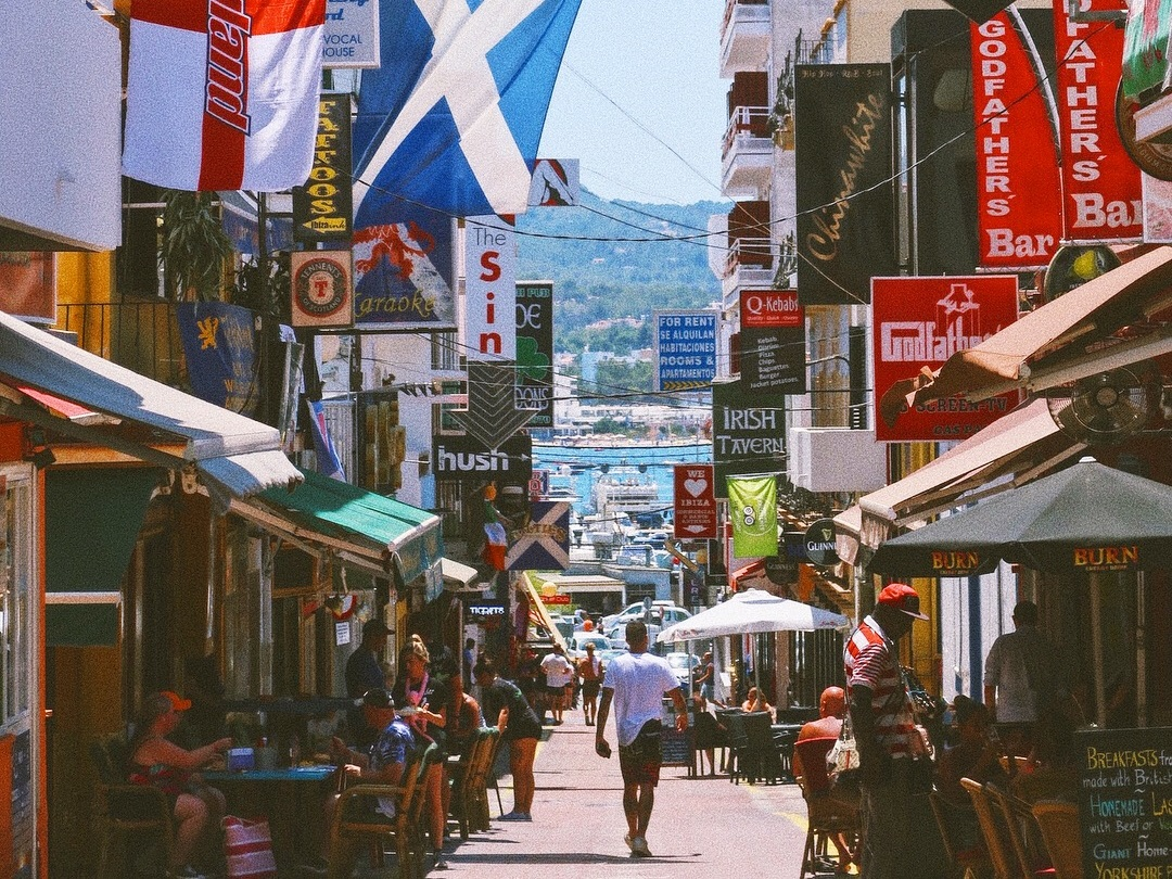 Old Town, San Antoni Ibiza