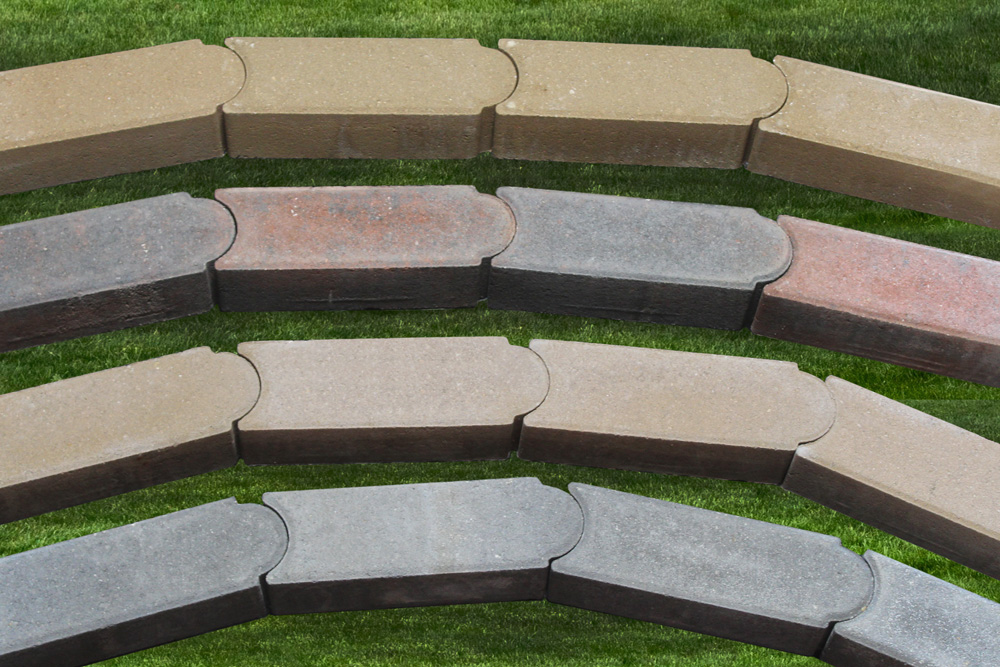 EDGING AVAILABLE IN 4 COLORS.