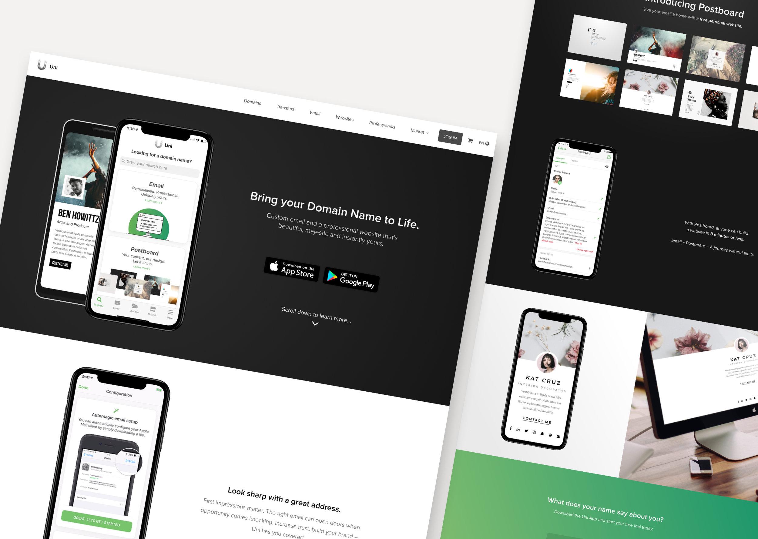 Uniregistry.com - App