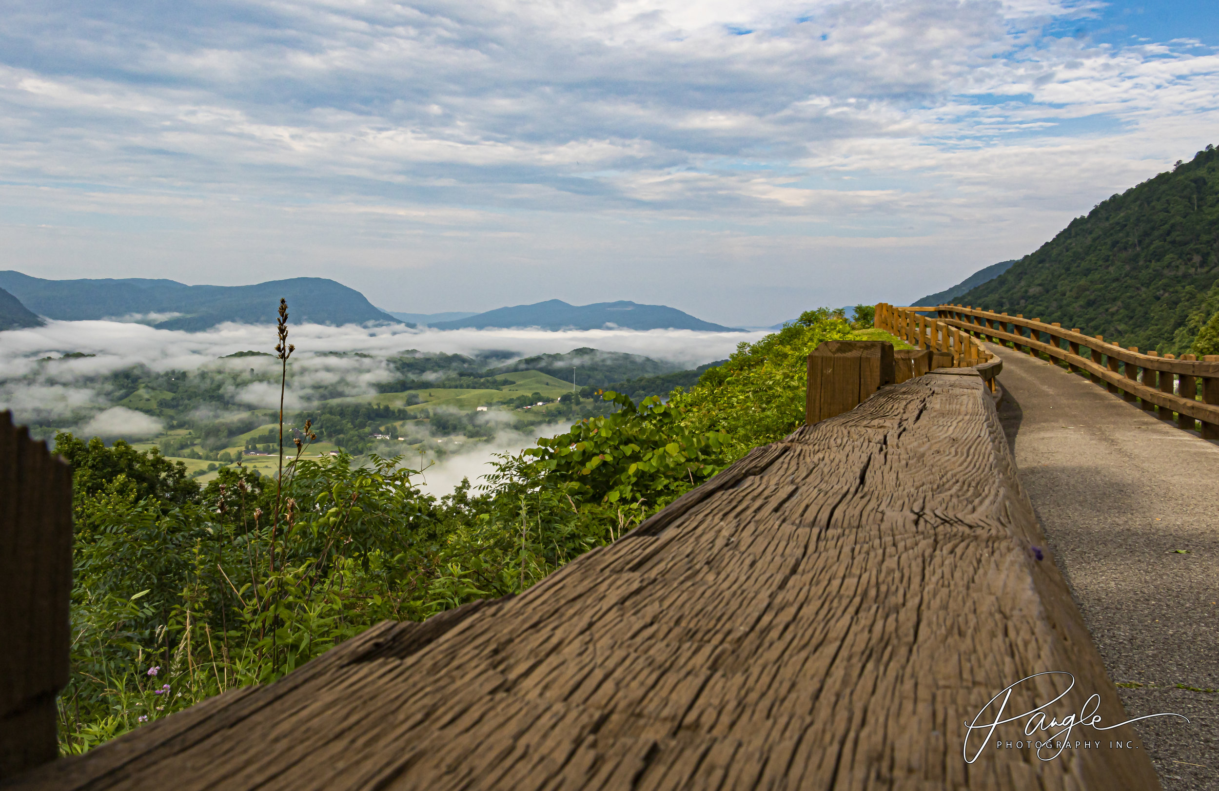 Driving up to the Graphene Research Center in Wise, VA the other day and stopped for a min to have a look at the beautiful Powell Valley Overlook. God's artwork is truly amazing!!