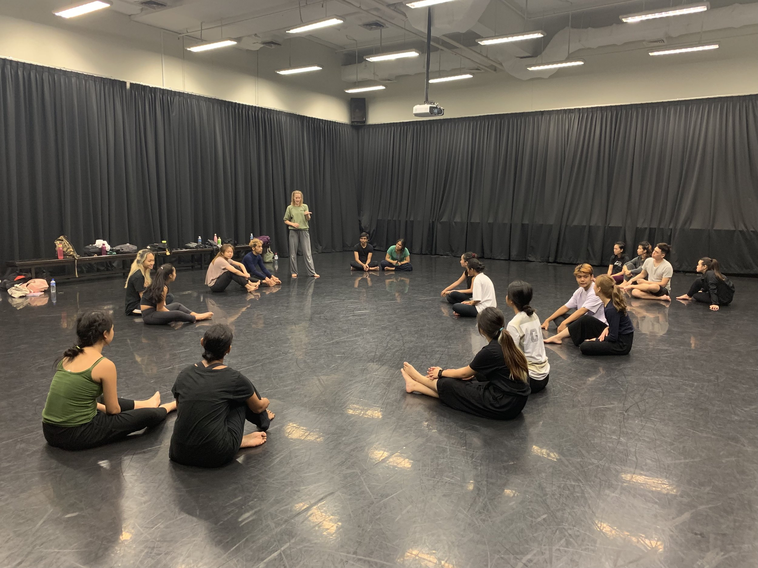 Workshops with LASALLE College of the Arts, Singapore, May 2019