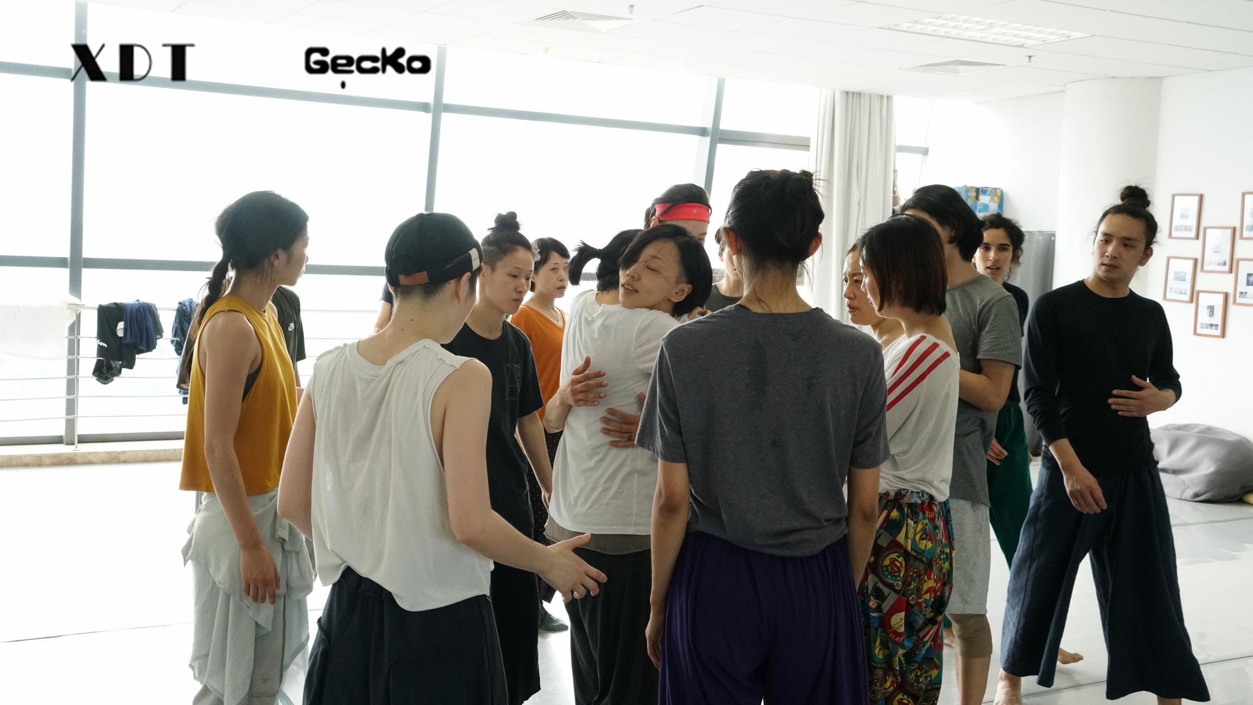Workshops with XieXin Dance Theatre, June 2019