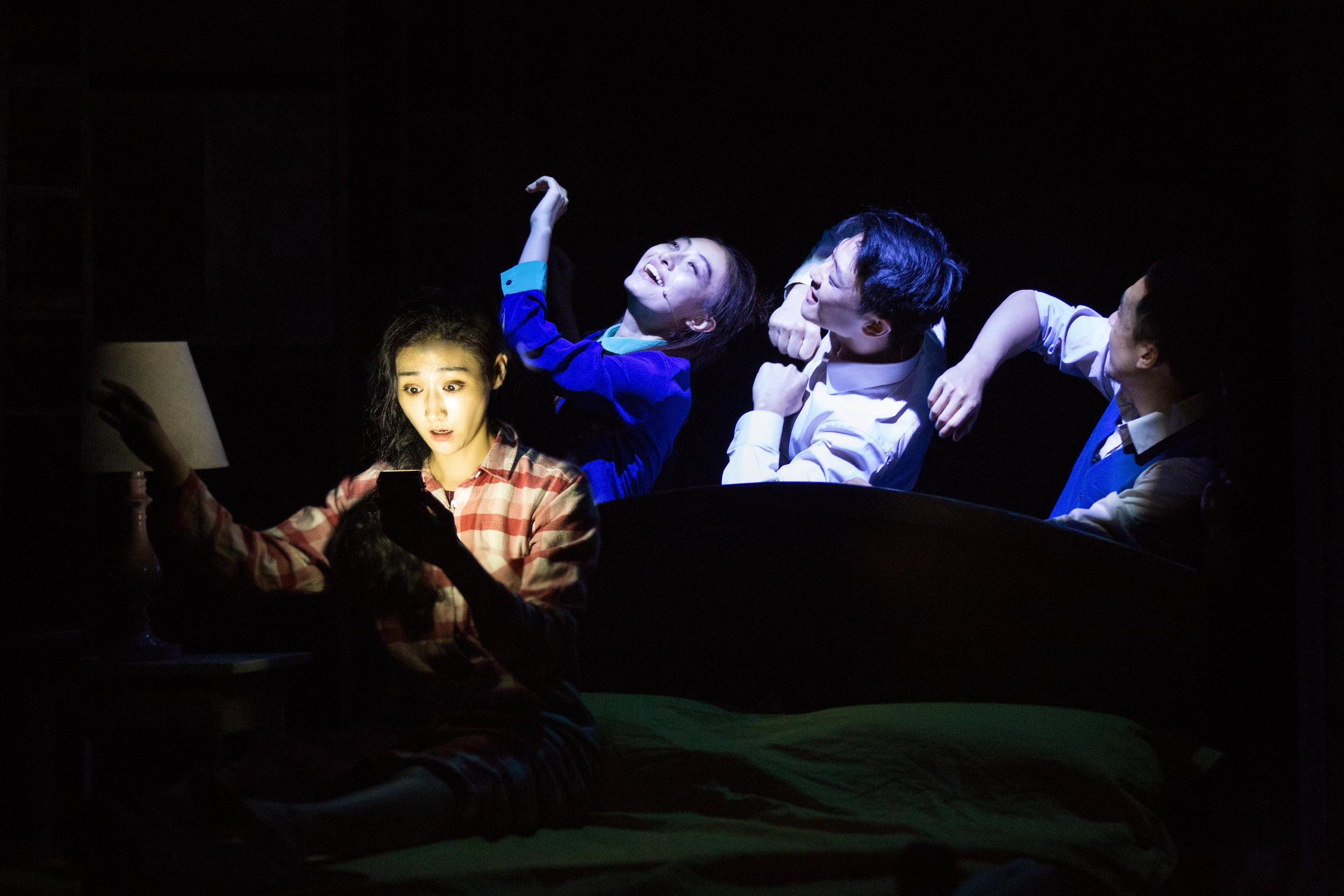Production image for The Dreamer. Photo credit: Yin Xuefeng