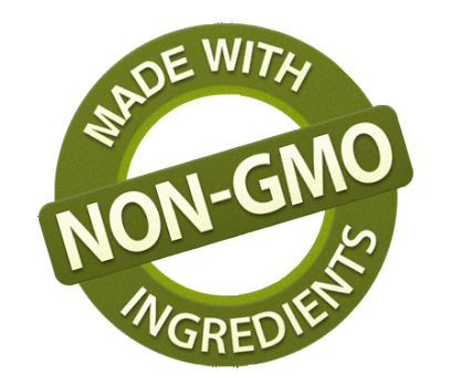 All natural, non-gmo ingredients