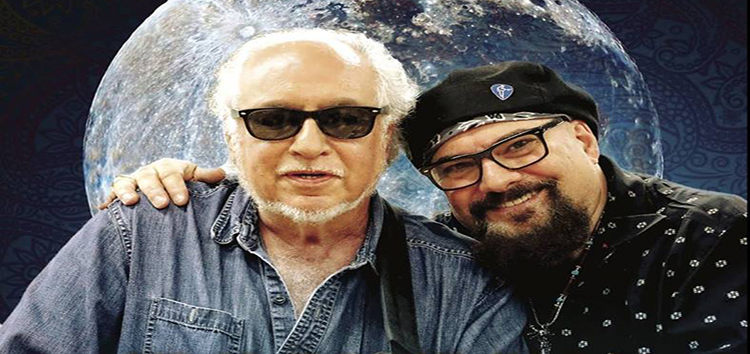 Bob Margolin & Jimmy Vivino summer blues concert July 2019 at El Palo Alto Room