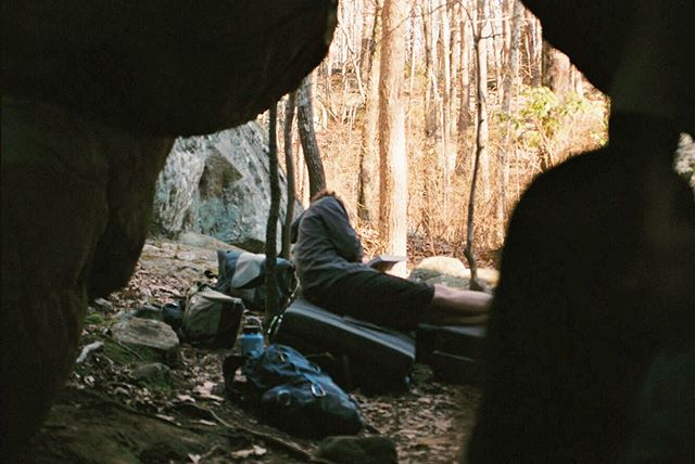 pretty sure that's @wyliecoyote1 reading a book six months ago in the woods of rock town.. i think #film