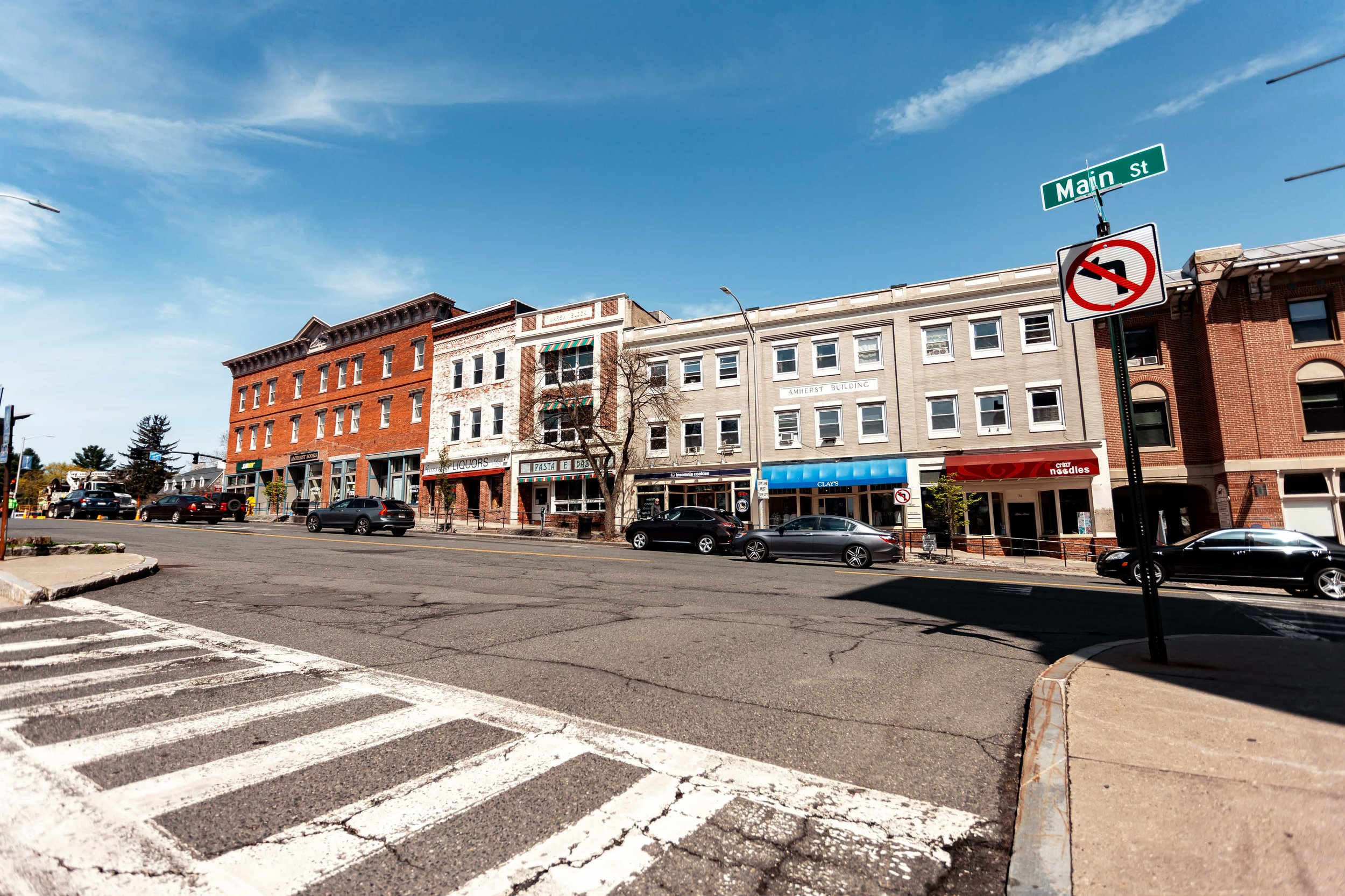 Close to the Historic Downtown Amherst District