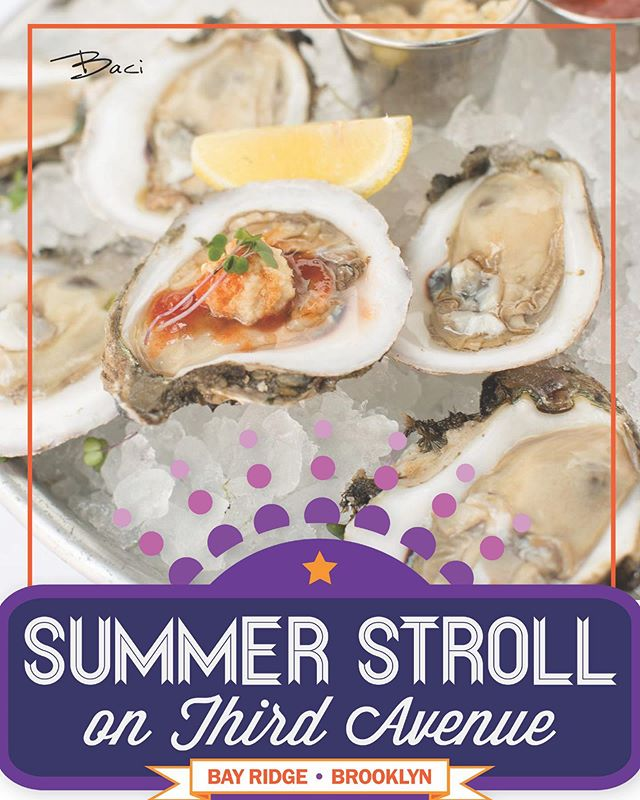 Bay Ridge, are you ready for our debut at the annual Summer Stroll on 3rd Avenue!? Make sure to stop in and give us a taste!