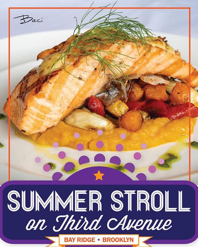 Tonight the night! Don't forget to stop in and checkout our Summer Stroll menu!