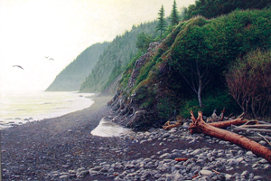 """""""On the Lost Coast"""" by Shawn Gould, RAA Spring Best of Show Winner, 2007"""