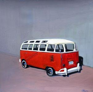 """""""Twenty One Window VW Bus"""""""