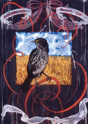 """Extinction Series - Dusky Seaside Sparrow"""