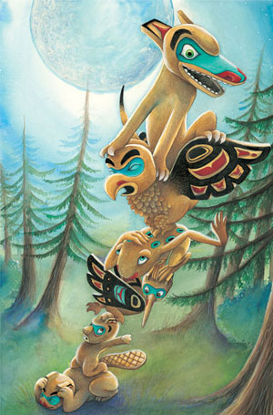 from Totem Tale by Erik Brooks