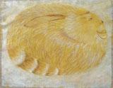 """Fantasy Rabbit"" by Morris Graves"