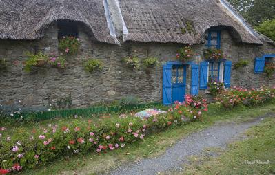 David Howell-thatched stone house brittany france.jpg