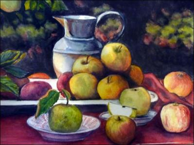 Carol Lauer-apples and pitcher.jpg