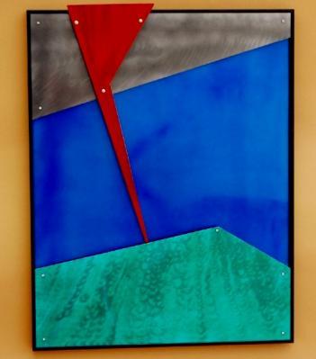 Eric Furman-red lightening wall piece.jpg