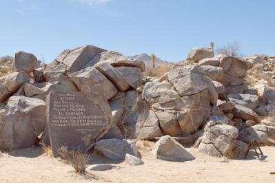 Joseph Wilhelmsamuelson's rock, 2007.jpg