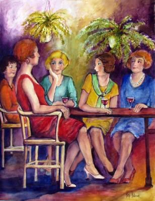 Patricia Holbrook-happy hour at the 12 street wine bar.jpg