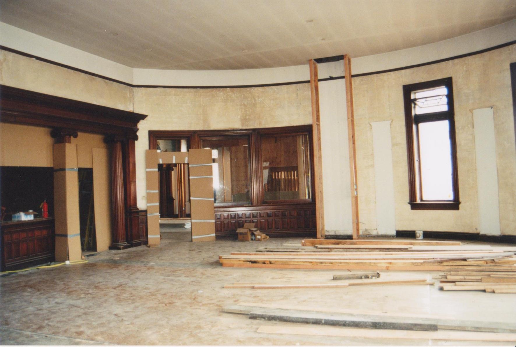 Photographs of 1996 restoration.