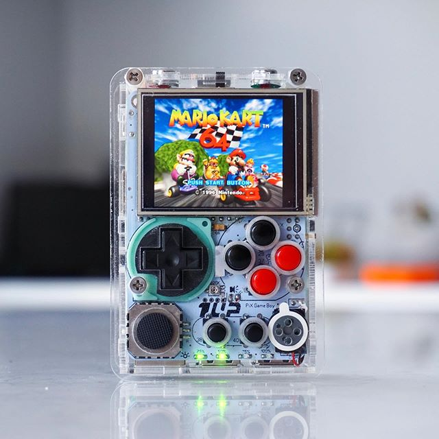Who's your favourite Mario Kart character? 😁  We'll have some 1UP Pi-Boy micro's ready this Friday on the site at 4PM BST! 👾 ——————————————————— Swipe for Gameplay ➡️ Follow @gbzmods —————————————— www.gbzmods.com/shop