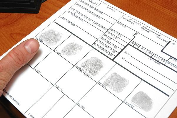 FD258 Fingerprint Card