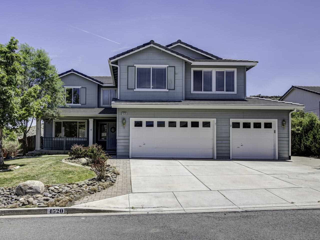 4520 Great Falls Loop, Reno, NV  4 Bed | 3 Bath | 2,583 sqft | $594,900 Rick and Mindy DeCosta | 775.393.9507