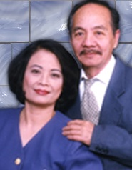 Dr. Duong Lai Canh with his wife