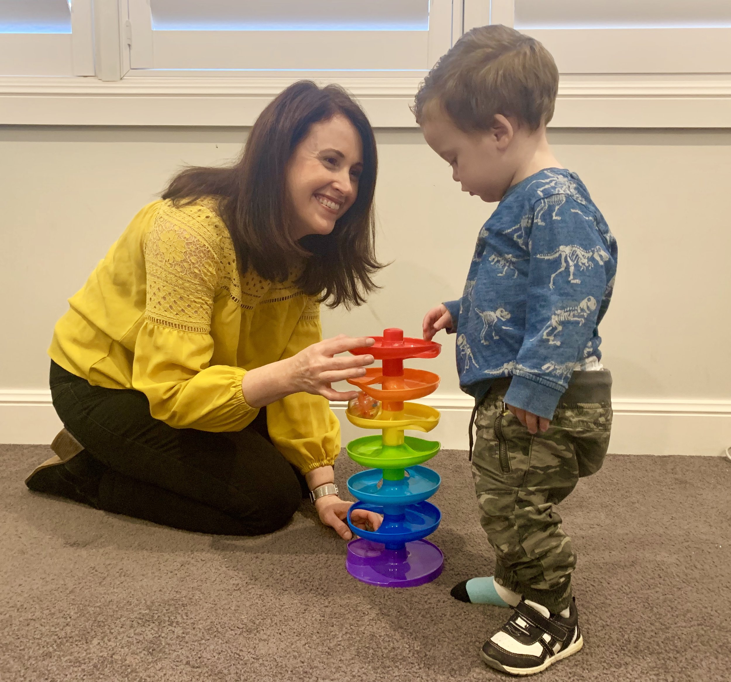 We believe children learn best when they're having fun - Every child is unique and we enjoy getting to know your child. This includes the things they like and their learning preferences. We use your child's interests to help captivate their attention and increase their motivation in our sessions.