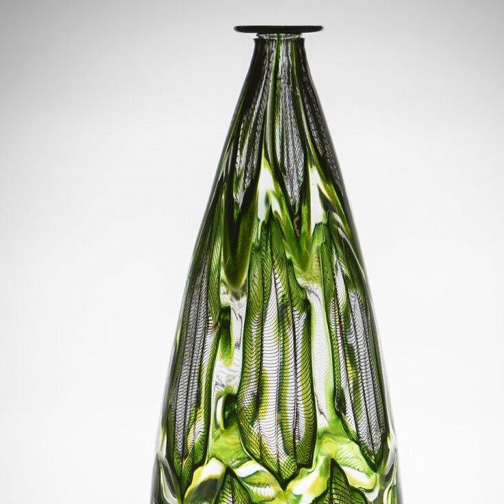 Tom Rowney Green aventurine motif, black zanfirico cane work -.jpg
