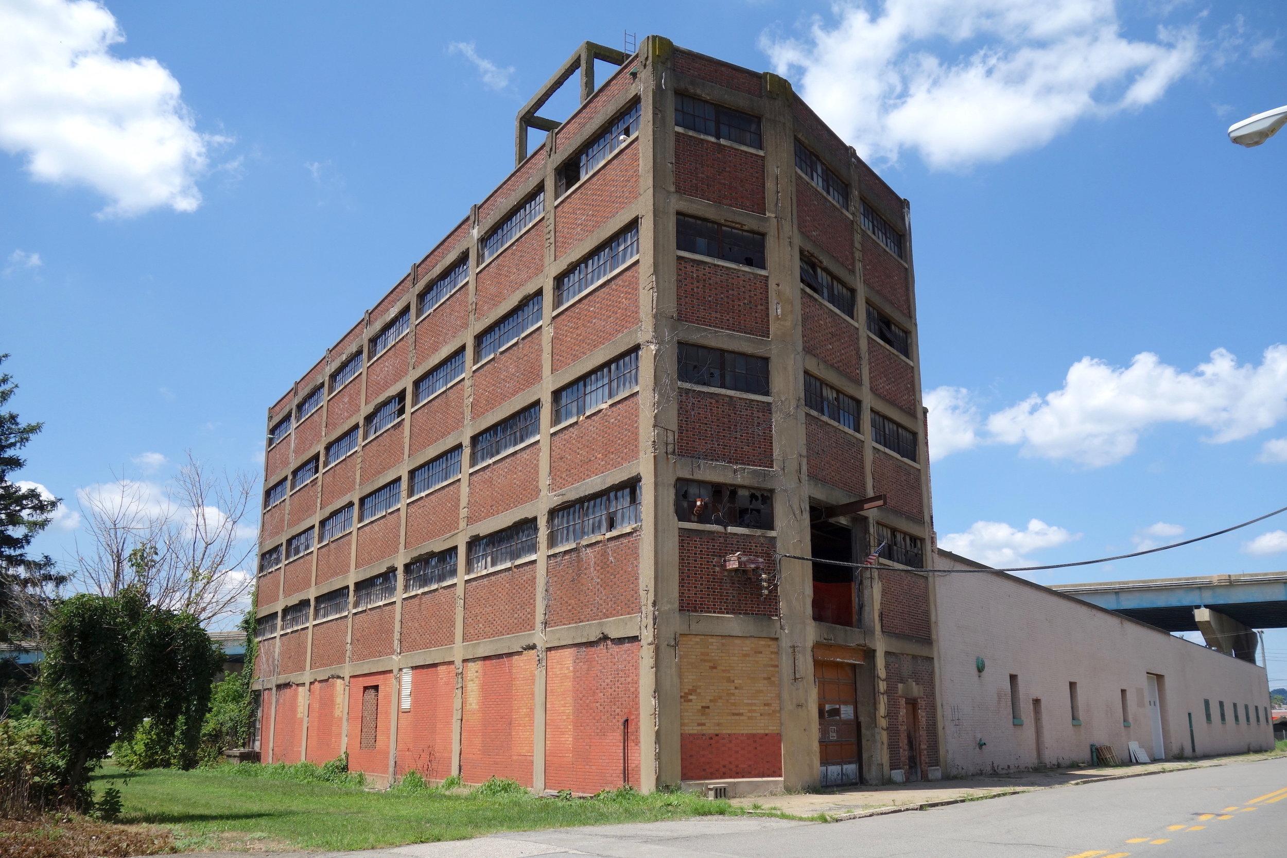 Figure 2. Abandoned warehouse, Wheeling,2016. Photograph by Joseph Heathcott.