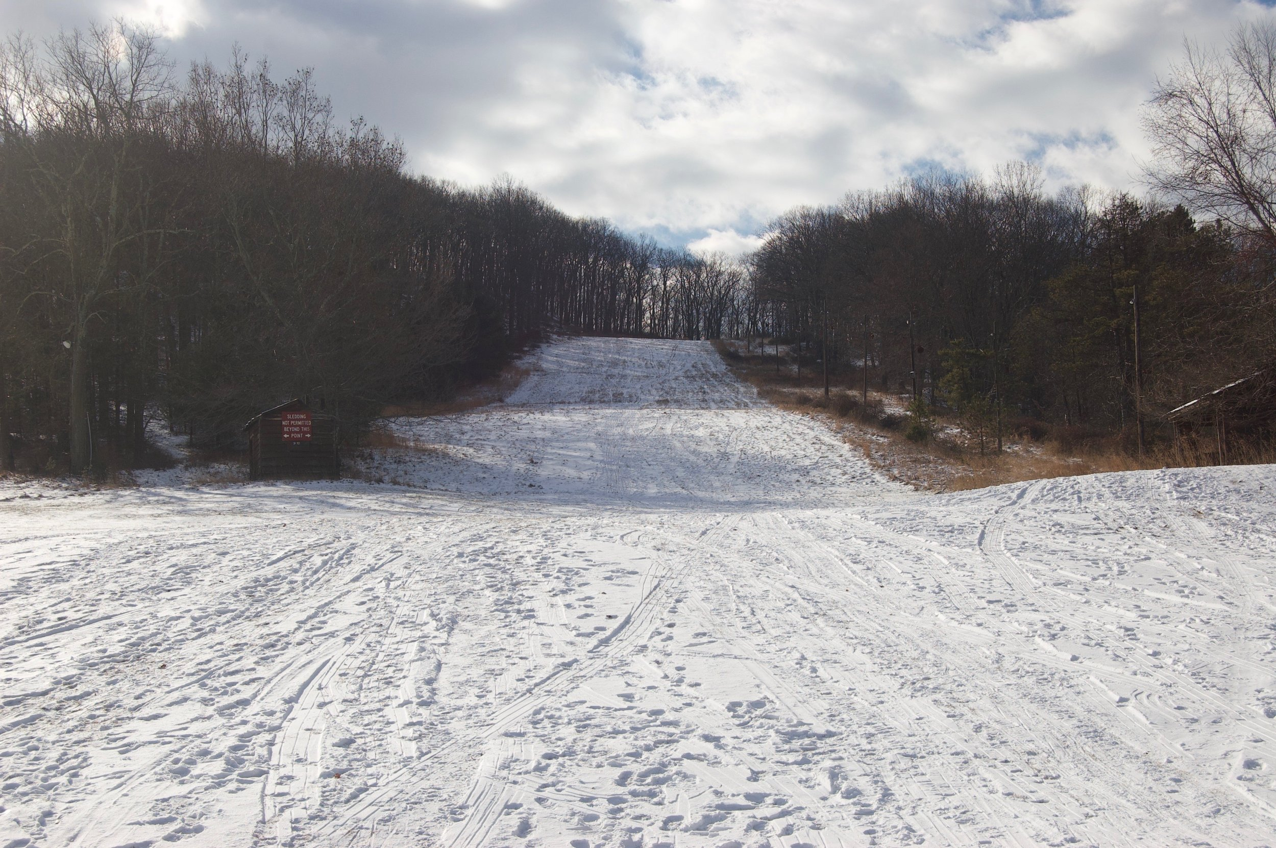 Figure 4. The Silvermine ski slope, 2017. Photograph by Robert W. Snyder.