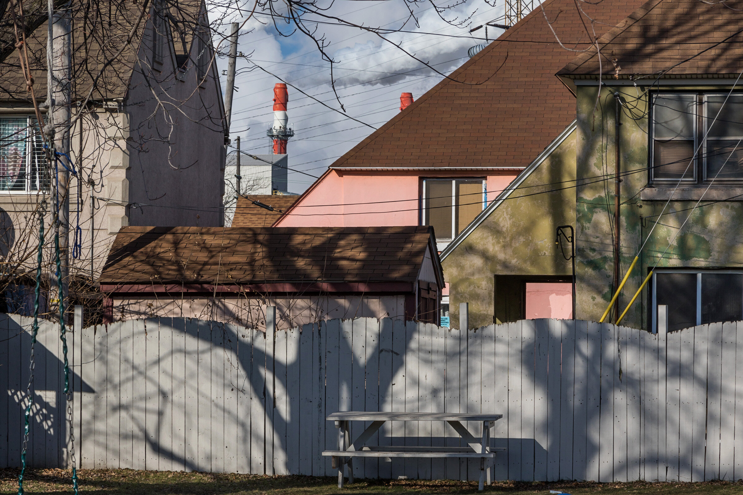 Figure 3. Marktown Neighborhood of East Chicago, Indiana, January 2017. Photograph by Matthew Kaplan.