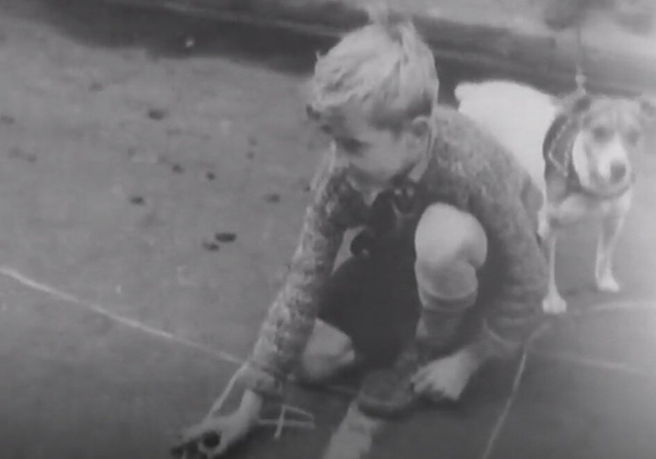 Screenshot 6. Play street.  A Better New York City , 1937, Federal Works Agency, Works Progress Administration, National Archives.