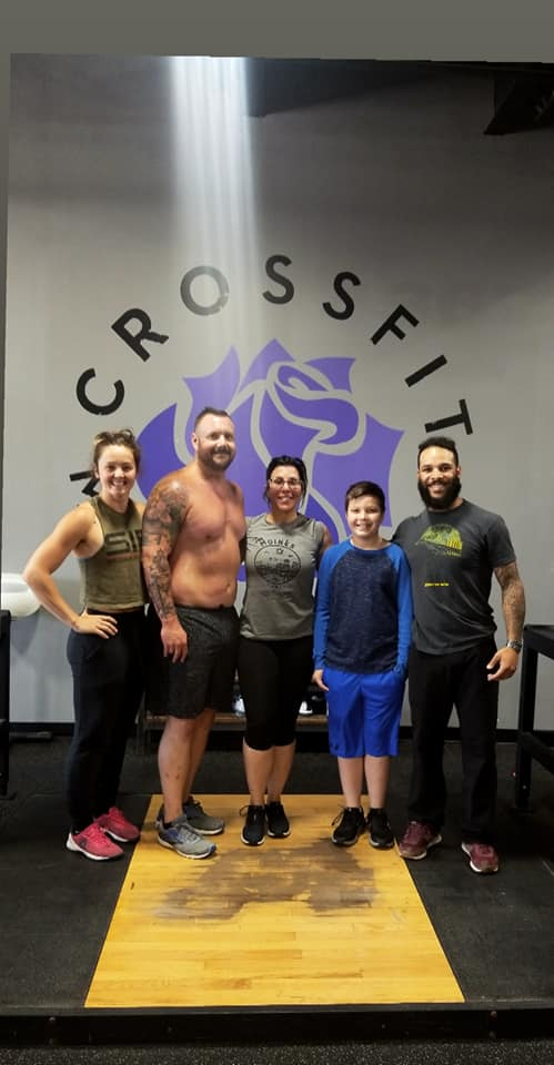 Yesterday was beautiful. Meet Gina. Gina needed a change, show we provided her with a way to do so. Gina put everyone in front of herself for a long time, and now we are working together so that she can become a better version of herself. She has found her home at  CrossFit Merle Hay and we are grateful for their genuine support.