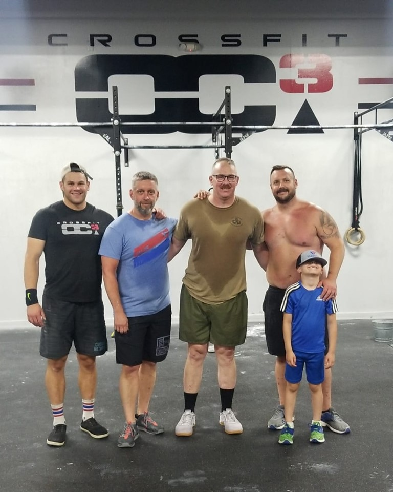Meet Tom. Tom walked into  CrossFit OC3  and told Colin Carteethat he needed a change, so we provided him the opportunity at one. Thomas' service to his country will not be forgotten, and we are grateful to be partnered with the OC3 community in reminding him of that. Putting veterans and their families in a position to succeed through their hard work and partnering them with knowledgeable people who are already doing great things is how we operate. It's working. It's always a good day when we get to hangout with our good friend Derek Fiscus and  WodThreads . See you at the Central Regional.