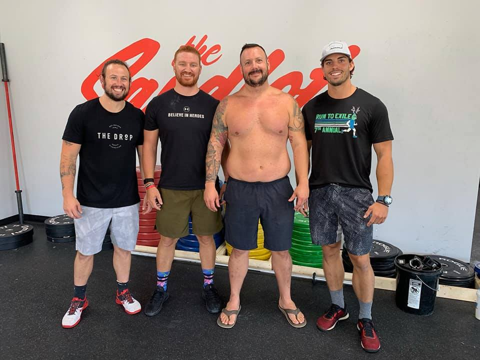 A huge thank you to Chris Reil for his recent donation to ValorFit. Chris has been a loyal supporter of ValorFit from the start, and recently held a fundraiser for us to sponsor a veteran in our program. We were able to speak with the guys at the Sandlot about possible future collaborations to raise money for ValorFit as well. Fundraisers are an effective way to raise money for ValorFit so that we can continue to lead veterans and their families to a healthier lifestyle. We are truly grateful for those who have held fundraisers on our behalf.