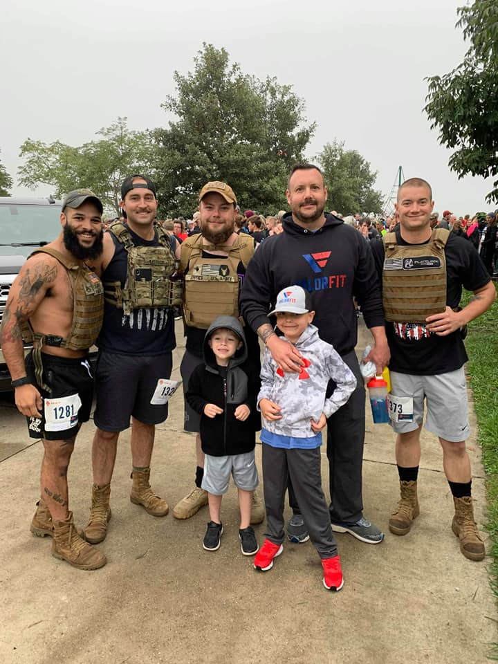 Yesterday some of us attended the 10th annual Iowa Remembrance 5k Run/Walk. It was time we were able to spend together to honor our friends and fellow Iowans. The event was beautiful and brought a lot of inner peace. Honoring the fallen together is something we can do as a cohesive unit so no one fights alone, so we will. Thank you to everyone who put this beautiful event together! Stronger Together.  #valorfit