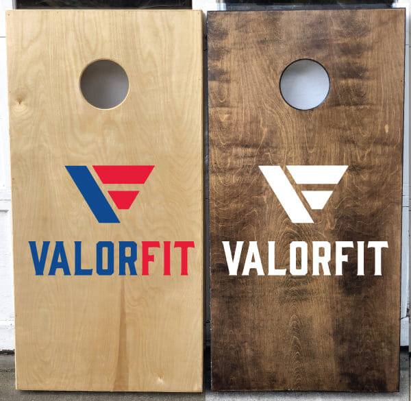 We have partnered with the local Iowa business Crafty Doods for an apparel fundraiser! From October 1st through Veterans Day, November 11th, every apparel item purchased will enter you for a chance to win these beautiful ValorFit bags boards. Winner will be drawn on November 12th.  Our goal is to raise $2500, which will provide financial assistance to 20 veterans/family members to be in our program for one month. As always, all proceeds will go directly towards gym memberships for veterans and their family members.  Each individual item gives you one chance, so the more items you purchase the better chance you have to win! We are truly grateful for everyone who has purchased and continues to purchase our delightful apparel, it is truly making a difference. Support veterans and their family members today!