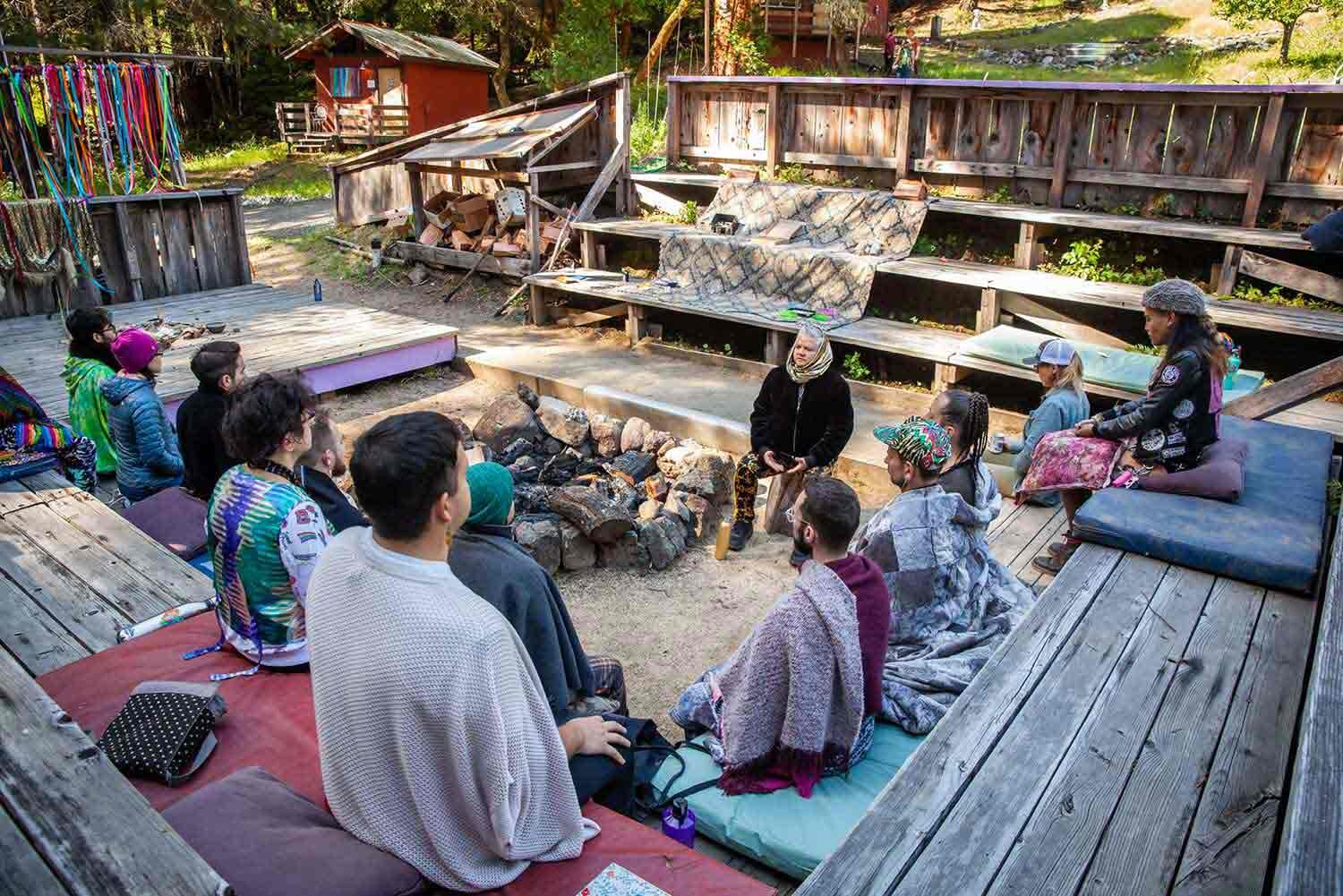 Alchemy of Desire Workshop, Into the Woods retreat 2019 at Groundswell CA | photo Devlin Shand