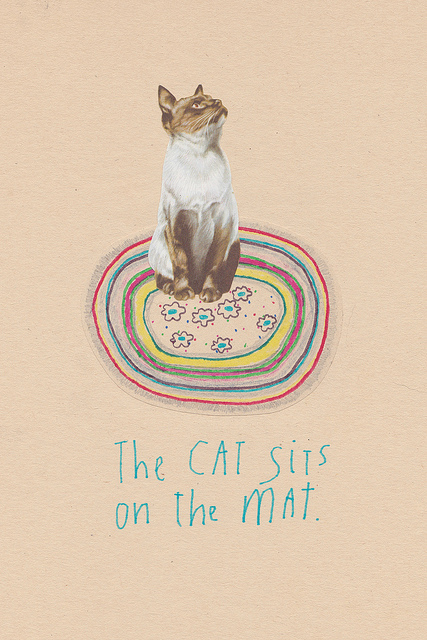 The Cat Sits on the Mat, 2012
