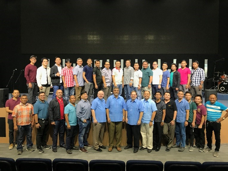 The men who completed Module 2 in Cebu (all thirty of them!)