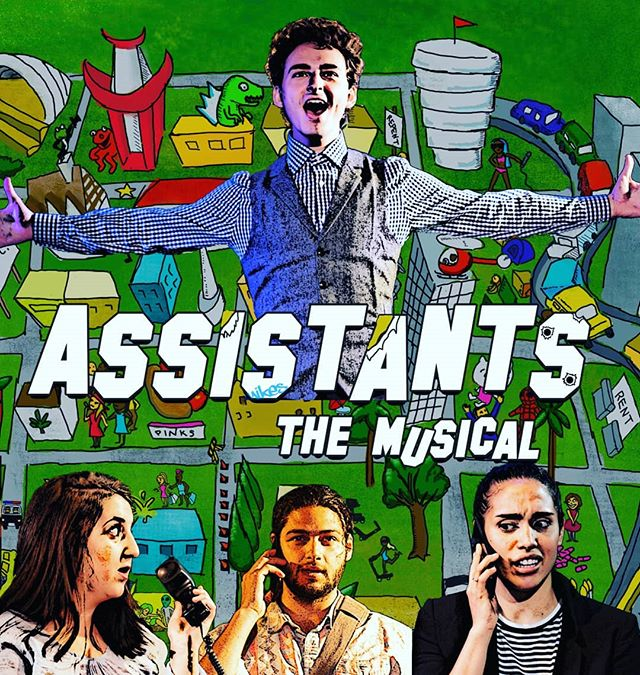 Assistants the Musical closes July 21! Use the code FAMILYBUSINESS for $20 off the Off-Broadway musical that takes you behind the scenes and behind the desks of the most powerful people in Hollywood.
