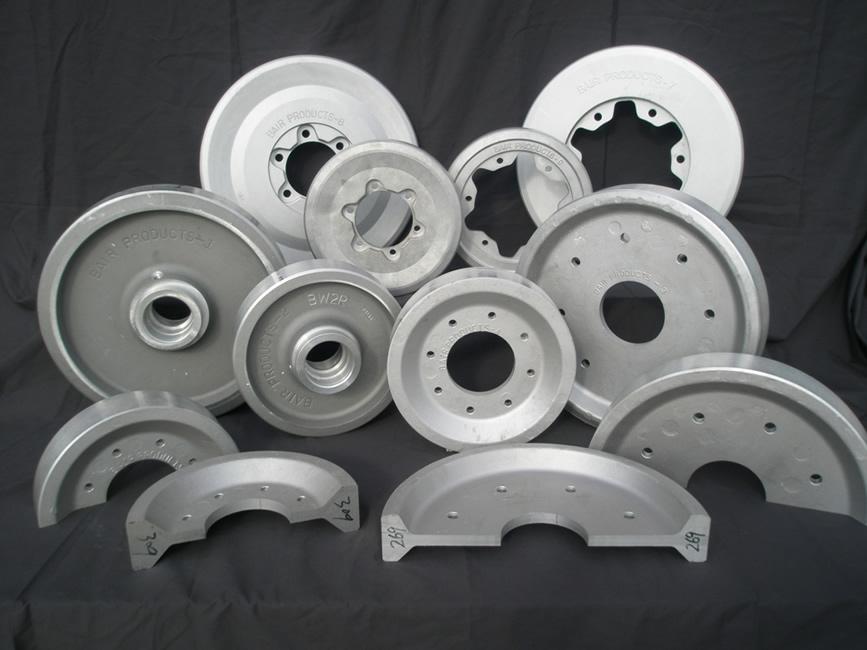 Wheels – Idlers – Bogies