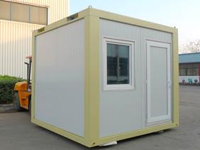 Mini Container - Mini Container is half of 20ft Container and normally are used as guard house or small kiosk.