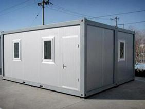 Single Storey Container House - Big building can be easily created by interlinking units together. Internal partition can be removed and changed as per user's wish.