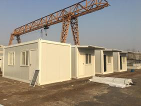 quick assemble cabin - Quick Cabin can be dismantled to parts and quick assembled at site. 3mx6m cabin can be loaded into shipping container and sent to overseas.