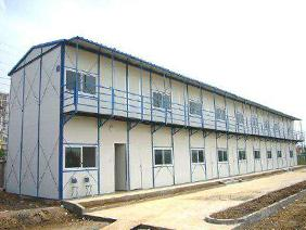 prefab k type house - K Type House is a kind of quick erecting house with light-weight steel frame. But it is not cabin type and could not be lifted as container.